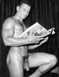 Male Models Vintage Beefcake Lionel Ravaute Photographed by Domenique