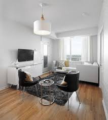furniture for condo living. open concept condo living room with black white and gray furniture accents for