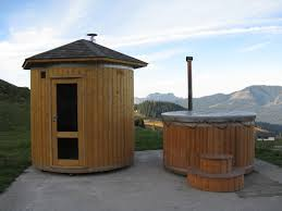 barrel saunas wood fired hot tubs beautiful