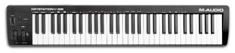 <b>MIDI</b>-<b>клавиатура M-Audio Keystation</b> 61 MK3 — купить по ...