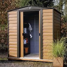 8 3 x 6 arrow woodvale metal shed