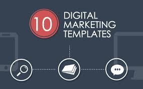 Digital Presentation Templates Marketing Powerpoint Presentation