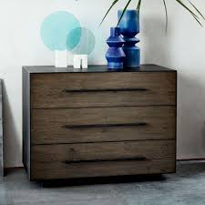 ... Massaro Metal-Wrapped 3-Drawer Chest - Hot-Rolled Steel ...
