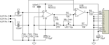 mic preamp circuit diagram the wiring diagram ultra simple microphone preamplifier circuit diagram circuit diagram