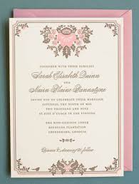 Pink Wedding Invitations - The Wedding Specialists