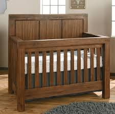 Oxford Baby Piermont 4-in-1 Convertible Crib - Rustic Farmhouse Brown