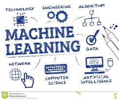 Machine Learning Concept Doodle Stock Illustration