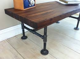 Industrial Style Coffee Tables Industrial Farm Dining Table Block Dining Table Wonderful