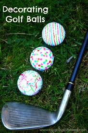 Golf Ball Decorations Decorating Golf Balls Laughing Kids Learn 5