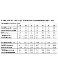66 Symbolic Pants Sizing Chart Women
