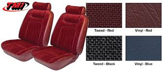 1979 1980 mustang front low back bucket seat covers