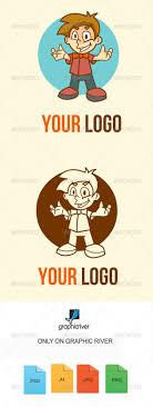 Photoshop Template For Logo Design Mascot Design Logo Templates From Graphicriver