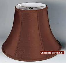 6 lamp shade chocolate brown chandelier lamp shade 4 6 inch high lamp shades