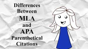 Comparison Of Mla And Apa Documentation Of Sources