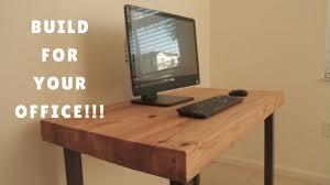 DIY COMPUTER DESK - GENIUS HOME DESIGN - HOW TO