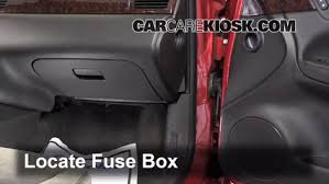 interior fuse box location 2006 2016 chevrolet impala 2013 locate interior fuse box and remove cover
