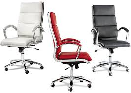 color office chairs. Modern Sleek Design Red Office Chair, White And Black Chair With Color Chairs E