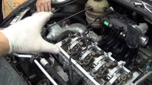 O.M. Peugeot 206 1.4 8v. TU3JP - Montagem do Cabeçote - YouTube