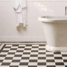 cambridge black white victorian style tile pattern