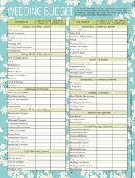 wedding budget checklist 01052016nz