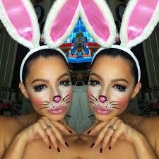 krystal allen beauty 2016 cute bunny makeup hallowiener bunny makeup 2016 and bunny