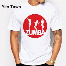 Yen Town Fashion Zumba Dancer Printed Shirt Man T Shirt