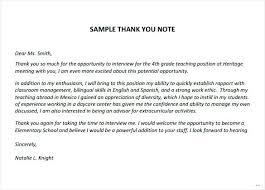 Thank You Letters After Teaching Interview Teacher Thank You Letters Arzamas