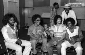 "Switch"" at Freeway Records in Los Angeles, CA(Tommy DeBarge, Eddie  Fluellen, Bobby DeBarge, Jody Sims, Phillip Ingram, Gregory Williams)circa  1979© 1979 Bobby Holland - Image 24331_0223 