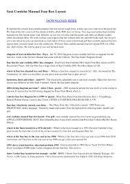 seat cordoba fuse box diagram seat ibiza 2015 fuse box layout 1995 Explorer Fuel Pump Fuse Fuse Box Layout seat cordoba fuse box diagram seat cordoba manual fuse box layout fuse box seat ibiza 2005