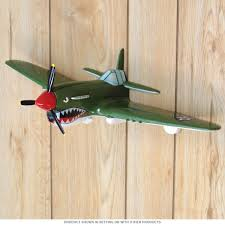P-40 Fighter Airplane WWII 3D Resin Wall Art | Gameroom Wall Decor ...
