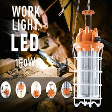 Led Temp Construction Lights 80w Led Temporary Construction Hanging Work Tent Light