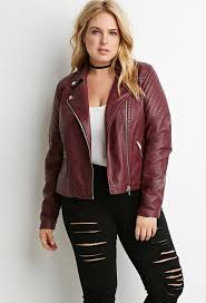 plus size leather vest luxury forever 21 quilted faux leather moto jacket plus size