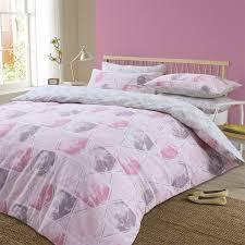aspect dusky pink cotton mix duvet set expand