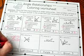 angle relationships pyramid puzzle answers complementary andary angles worksheet kuta elegant sum math schoolheetsheet of partitioning