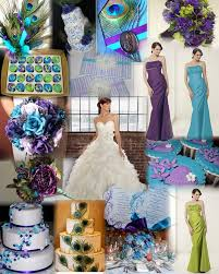 Purple and green wedding colors Dark Purple Blue Green Purple Wedding Dress Photo Thehalaqa Blue Green Purple Wedding Dress Womens Style