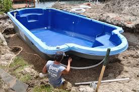 fiberglass swimming pool prefab