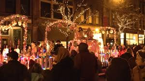 Christmas Lights In Elmira Ny Parade Of Lights In Cornings Gaffer District Weny News