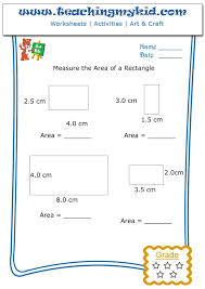 Measure The Area Of Rectangle Archives - Teaching My Kid