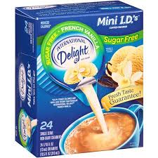 Surprise your coworkers or family with a bottle, and watch the room light up with delight. International Delight Sugar Free French Vanilla Creamers 24 Ct 6 Pack Walmart Com Walmart Com