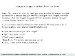 After Interview Thank You Letter Sample Samples Interview Thank You Notes Sample Letter Template
