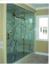 custom frameless glass shower enclosure