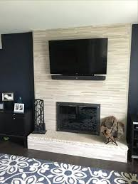 photo 1 of 9 fireplace updates our old was brick veneer to give wall s it