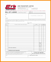Word Bill Of Lading Template Bill Of Lading Template Word Unique Shippers Bill Lading Template