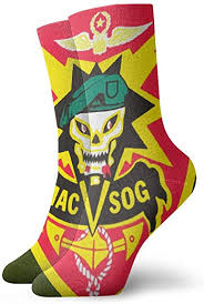 US Army Vietnam MAC-V-SOG Dress Socks Crew ... - Amazon.com