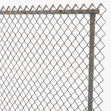 chain link fence 3D model CGTrader