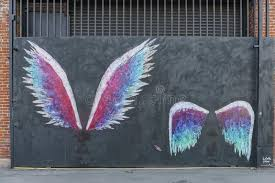 download the famous angel wings in art district co op editorial stock image image on angel wings wall art los angeles address with the famous angel wings in art district co op editorial stock image