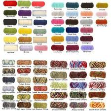 Red Heart Yarn Conversion Chart Red Heart Yarn Color Chart Google Search Red Heart Yarn