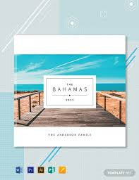Free Wedding Photobook Cover Template Word Psd