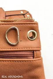 for women on the go this diy belt bag is so easy to recreate and