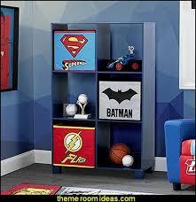 dc comics justice league deluxe 6 cubby